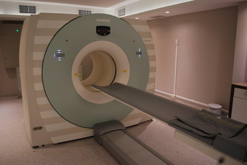 Modelo de equipamento PET scan que deve ser instalado no Hospital de Base do DF até o fim do ano — Foto: Divulgação - PET scan da Clínica OncoPETscan*