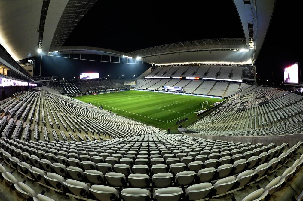 Arena Corinthians terá novo nome após venda de naming rights — Foto: Marcos Ribolli