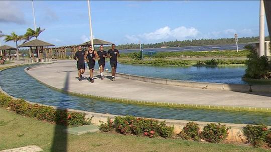Militares treinam e iniciam contagem regressiva para corrida de rua