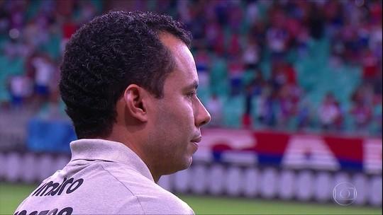 Santos perde para o Bahia no último lance da partida