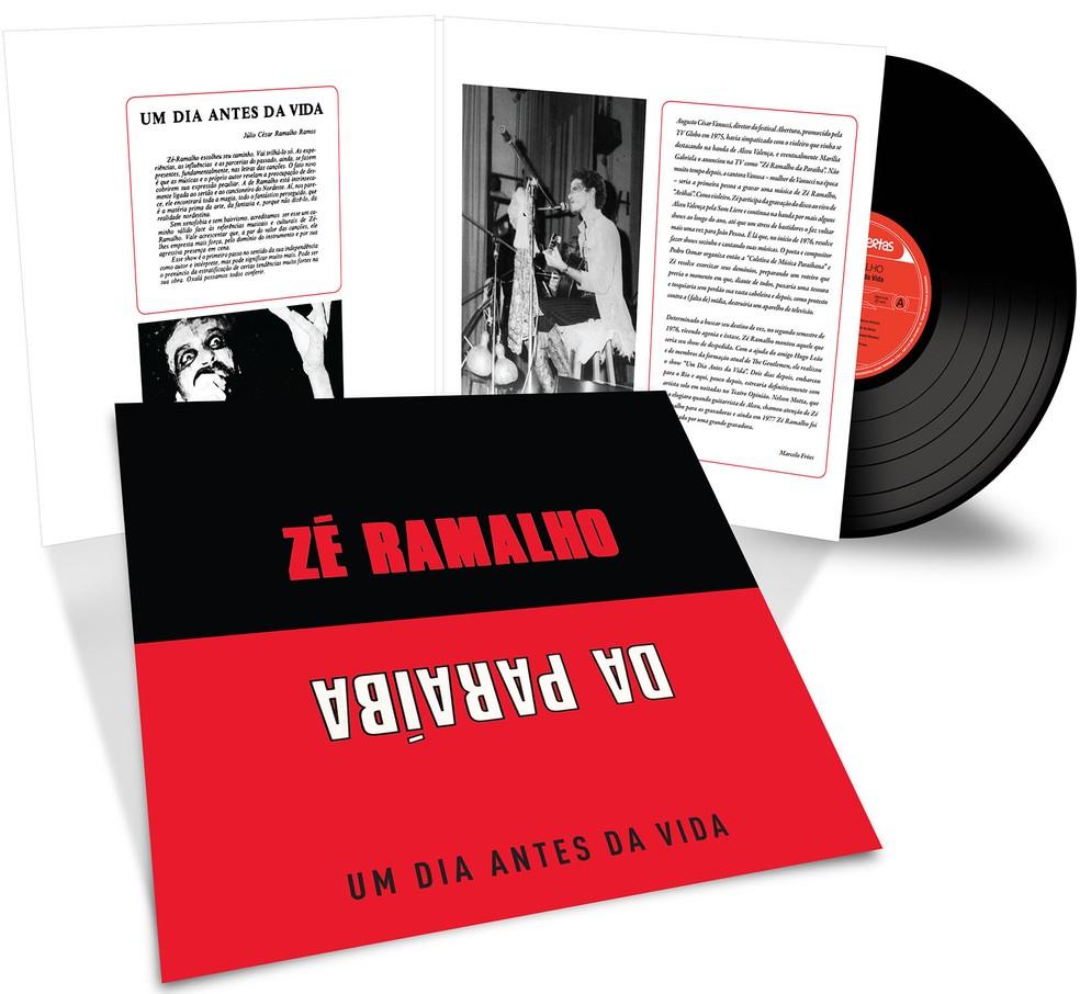 Capa do álbum 'Um dia antes da vida', de Zé Ramalho (Foto: Divulgação)