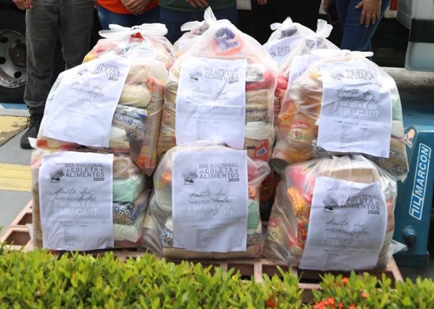 Campanha arrecada e distribui 2 toneladas de alimentos a cerca 50 entidades no Amapá