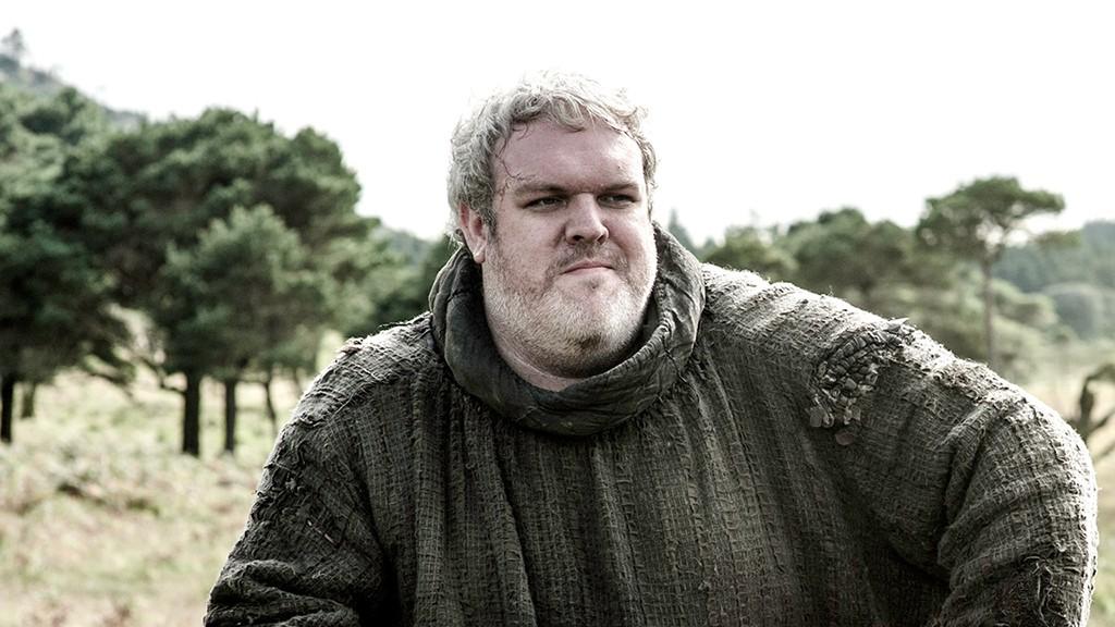 Kristian Nairn como Hodor na série 'Game of Thrones' (Foto: Divulgação)
