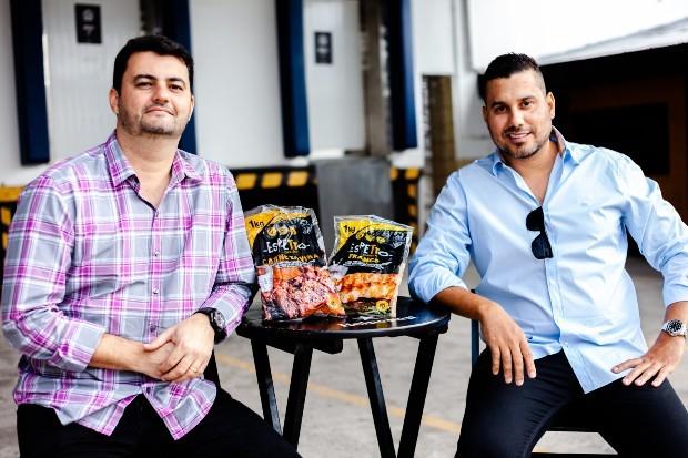 Bruno Gorodicht e Leandro Souza são sócios na Espetto Carioca (Foto: Rafael Jorge)