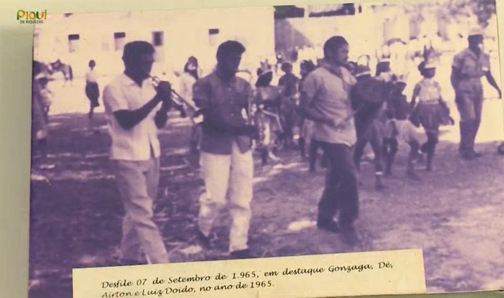 José Granjeiro, conhecido como Dé, que viveu as duas fases da cidade e tocou na primeira banda do região — Foto: TV Clube