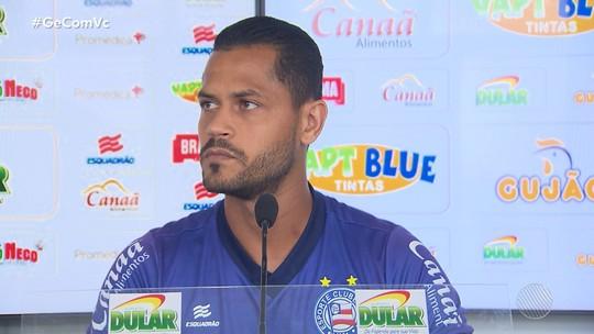Jogador do Bahia, Elton, vai passar por cirurgia no joelho e ficar 45 dias sem jogar