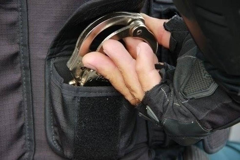 Algemas da Polícia Miliar de Sergipe— Foto: PM/SE