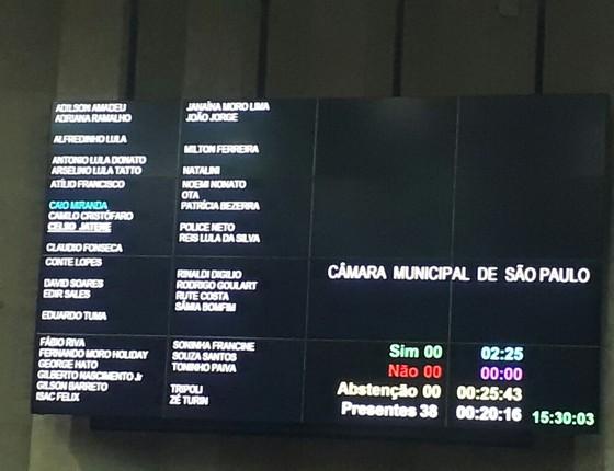 Vereadores de São Paulo homenageam Moro um dia depois de petistas homenagearem Lula (Foto: Reprodução)