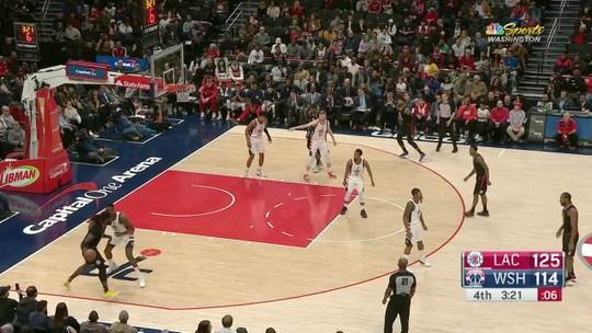 Com jogada espetacular de Kawhi e grande noite de Paul George, Clippers derrubam os Wizards