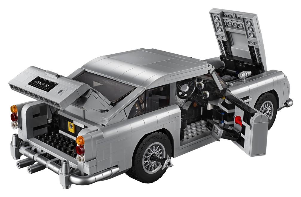 """Lego faz réplica de Aston Martin utilizado no filme """"007 - Contra Goldfinger"""" (Foto: Lego/Divulgação)"""