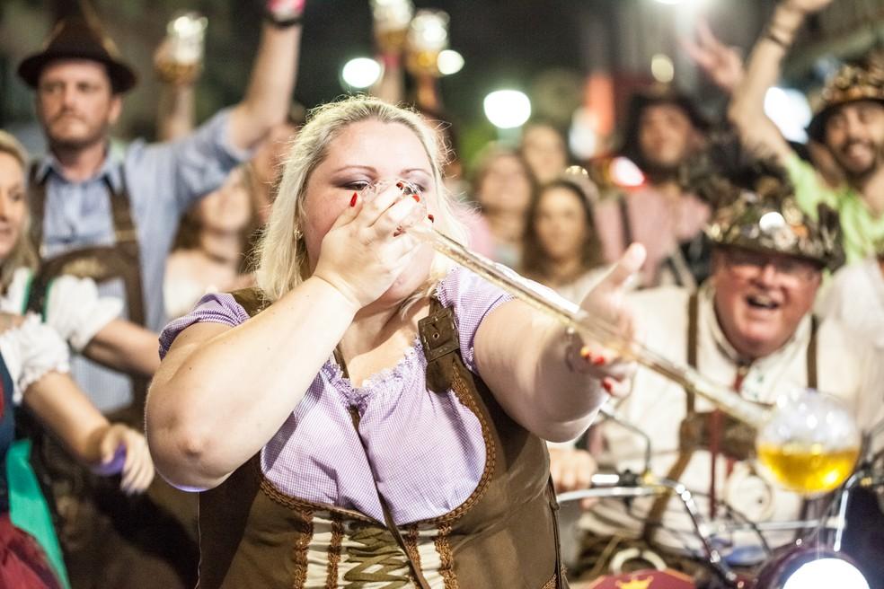 34ª Oktoberfest segue até domingo (22) em Blumenau (Foto: Léo Laps/Divulgação)
