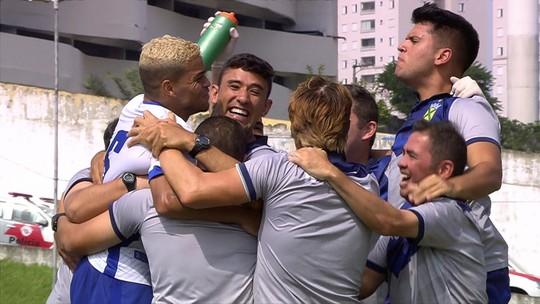 Os gols de Santo André 3 x 1 Inter de Limeira pela final da Série A2 do Paulista