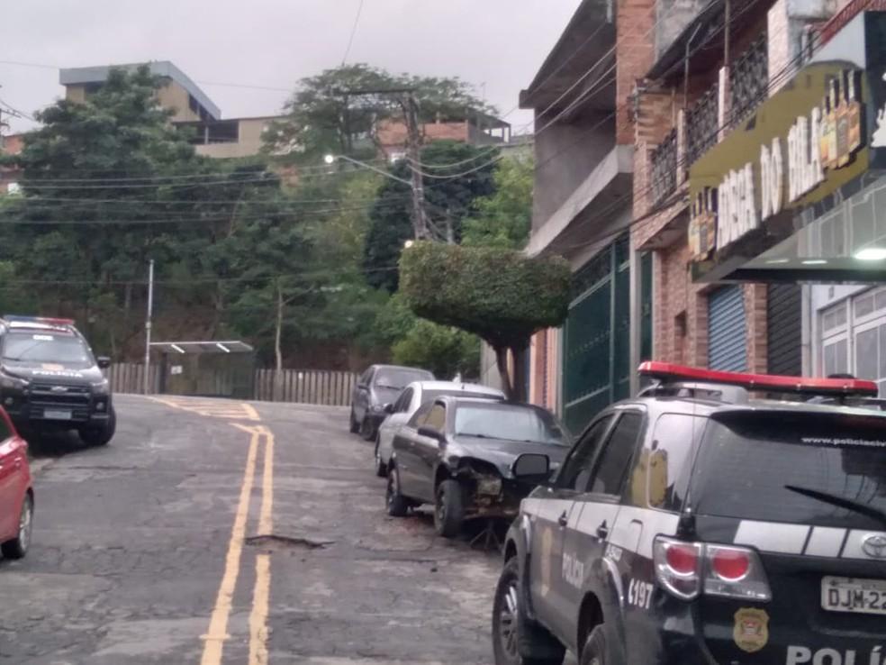 Polícia Civil deflagra a segunda fase da Operação Falaz  — Foto: Polícia Civil