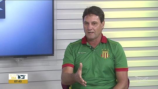 """Brigatti fala sobre futuro no Sampaio e projeta decisão contra o Confiança: """"Não podemos deitar na vantagem"""""""