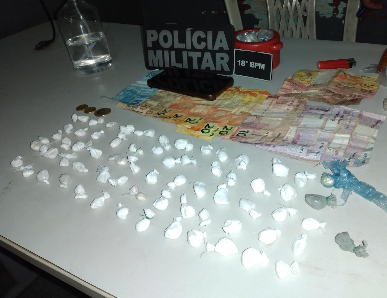 Duas mulheres são presas em flagrante vendendo drogas em Monte Alegre, no PA