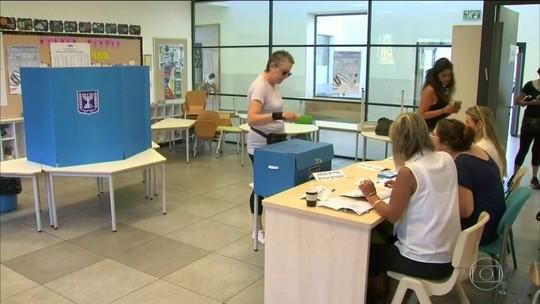 Partidos de Netanyahu e Gantz seguem empatados nas eleições de Israel, diz imprensa