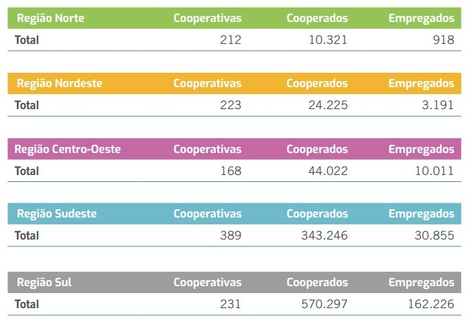 Anuário do Cooperativismo Brasileiro 2020, divulgado pelo Sistema OCB (Foto: Sistema OCB)