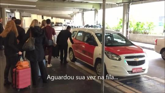Gente como a gente: Hernanes vira cidadão comum em desembarque tricolor