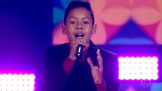 'Compartilha' conhece o Vinicius, participante do 'The Voice Kids'