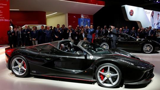 Ferrari tem lucro recorde com alta procura por modelos com motor V12