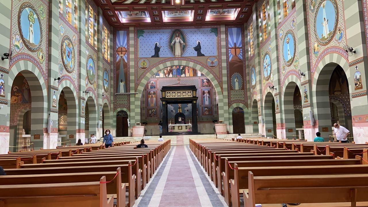Santuário de Vera Cruz substitui tradicional romaria por celebração online