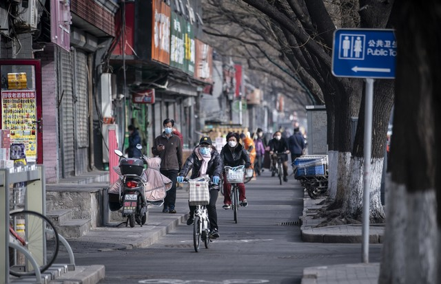 Letter From China Life in Beijing Slowly Returns to Normal (Foto: Getty Images)