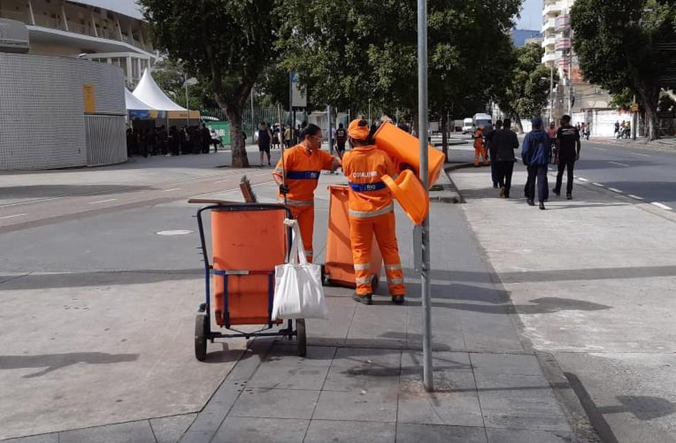 Prefeitura do Rio mudou o comando da Comlurb, empresa de limpeza urbana do município — Foto: Reprodução/Comlurb