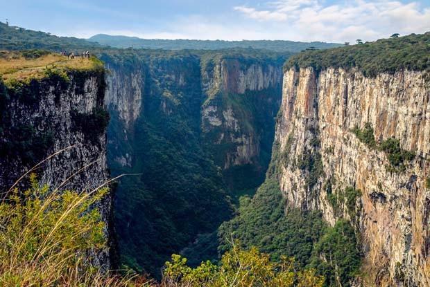 Itaimbezinho Canyon, Cambará do Sul, Rio Grande do Sul, Brazil (Foto: Getty Images/iStockphoto)