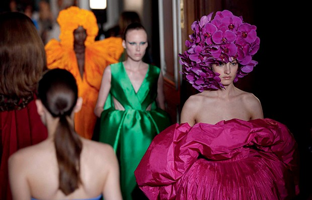 Ucha Meirelles Alta-Costura (Valentino Couture / outono-inverno 2018) (Foto: Divulgação)