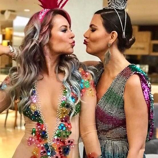 Paolla e Carol Sampaio (Foto: Reprodução/Instagram)