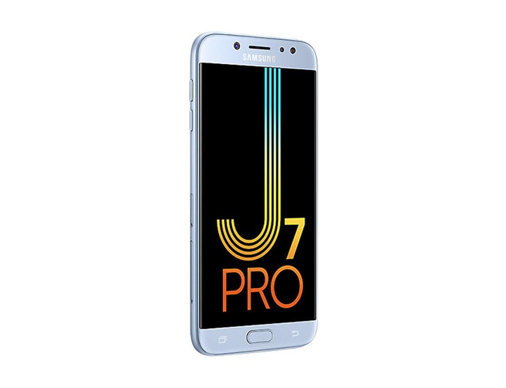 Galaxy J7 Pro tem visual sofisticado e está disponível nas cores preto, azul e dourado (Foto: Divulgação/Samsung)