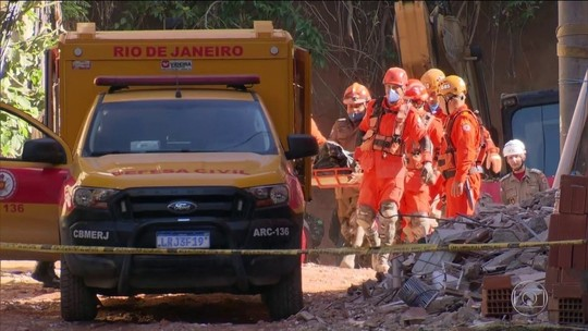 Nº de mortos nos desabamentos no Rio sobe para 20; 3 estão desaparecidos