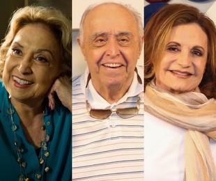 Eva Wilma, Mauro Mendonça e Rosamaria Murtinho | TV Globo