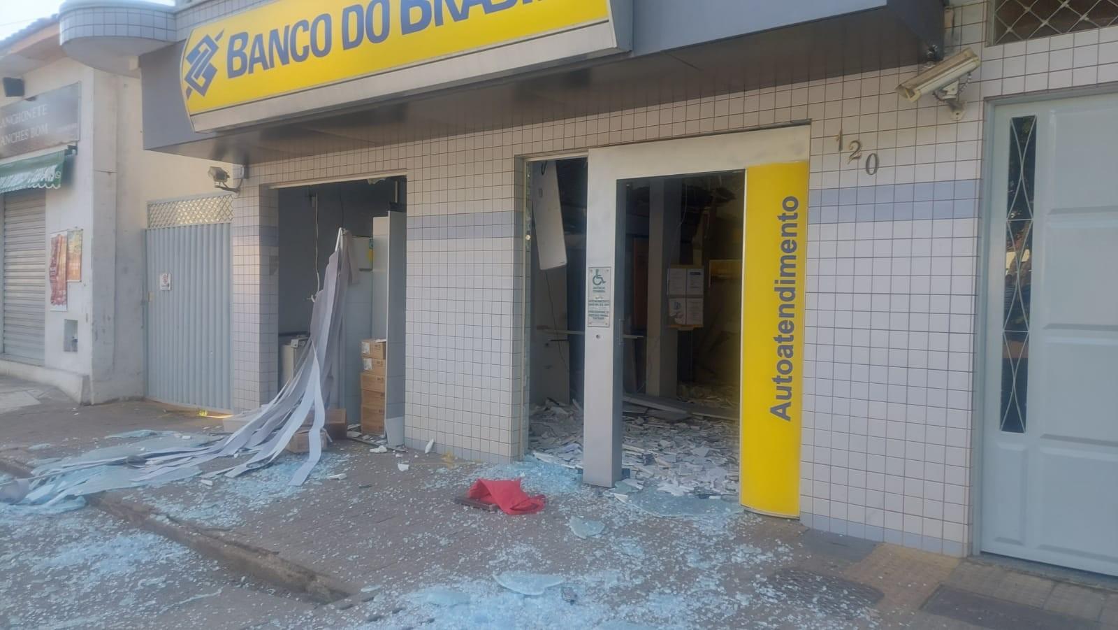 Quatro suspeitos de explosão de caixa eletrônico do Banco do Brasil em Coimbra são presos