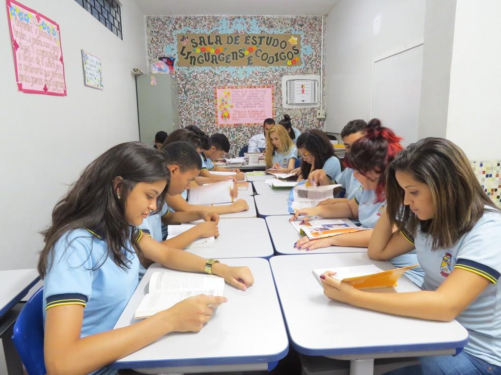 No ensino médio, o Ceará teve o 4º melhor resultado do Brasil, com uma escola localizada em Itapajé, no interior do estado — Foto: Secretaria da Educação (Seduc)/ Divulgação