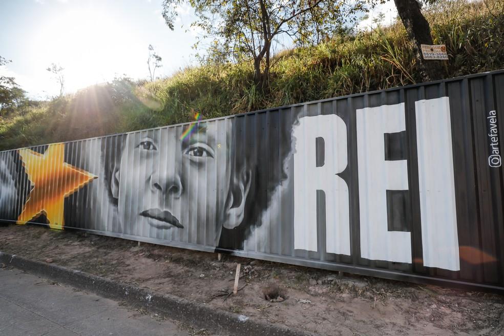 Homenagem a Reinaldo — Foto: Bruno Cantini/ Atlético-MG
