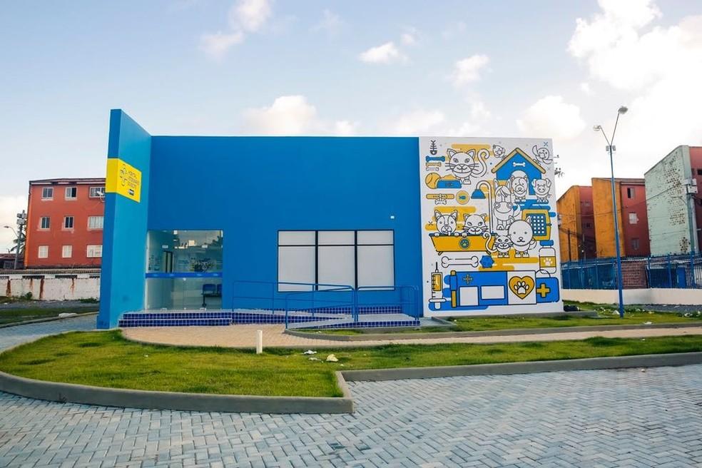 Hospital veterinário do Recife fica na Zona Oeste  — Foto:  Divulgação/PCR