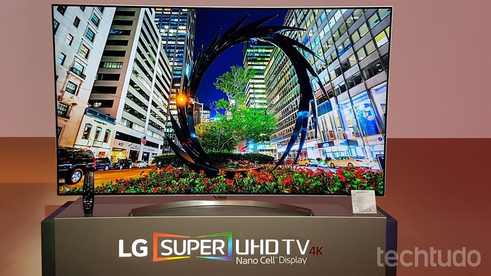 666f47f9f8b ... Smart TV Super UHD 4K da LG chega ao Brasil com suporte a Dolby Vision —
