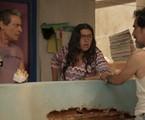 Luiz Carlos Vasconcelos, Regina Casé e Nanego Lira em 'Amor de mãe' | TV Globo