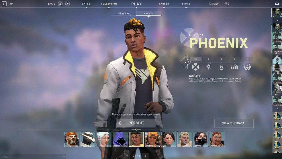 Phoenix is one of the characters in the game. (Image: Valorant)