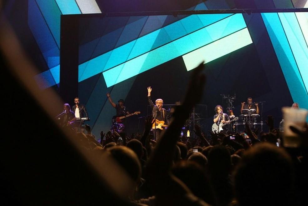 Hall & Oates fazem show para 6,5 mil fãs em São Paulo — Foto: Carol Mendonça/Divulgação
