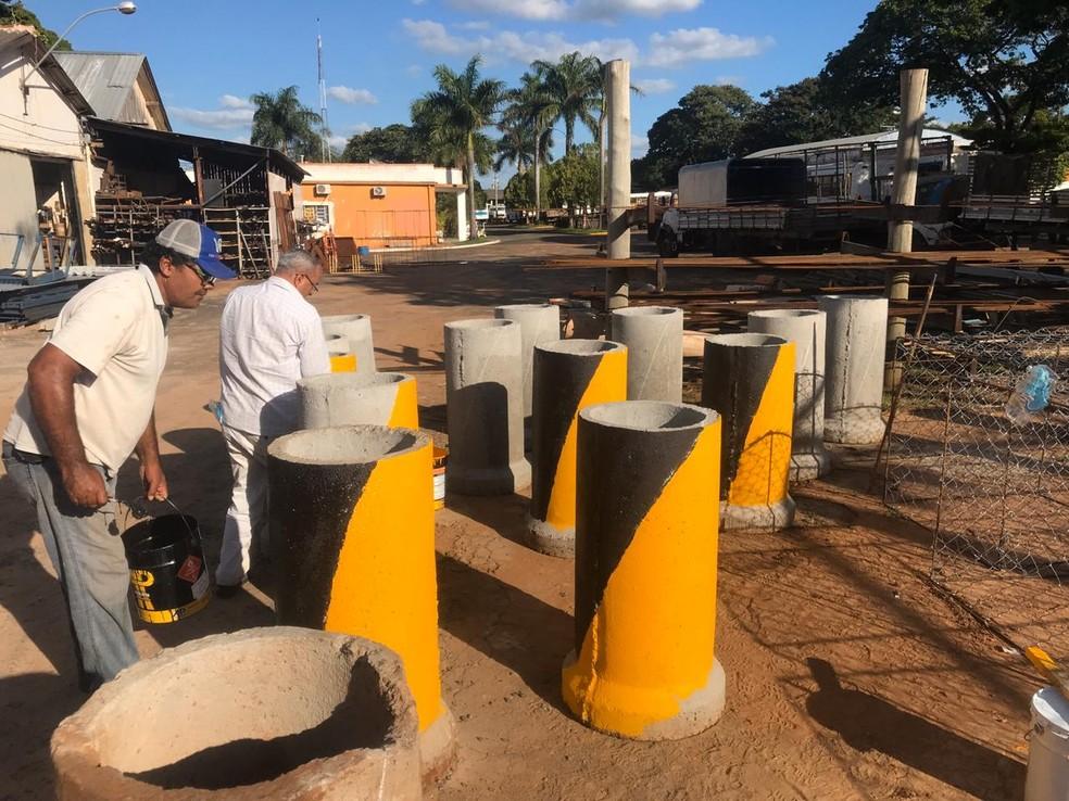 Tupã impõe barreiras sanitárias em acessos da cidade para controlar entradas e saídas — Foto: Divulgação/Prefeitura de Tupã
