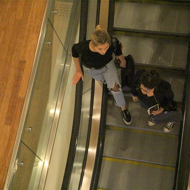 Sasha Meneghel e Amanda de Godoi (Foto: AgNews)
