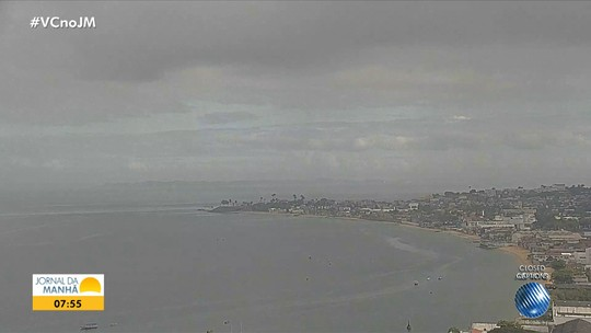 Previsão do tempo: Salvador pode ter chuvas isoladas nesta quarta-feira
