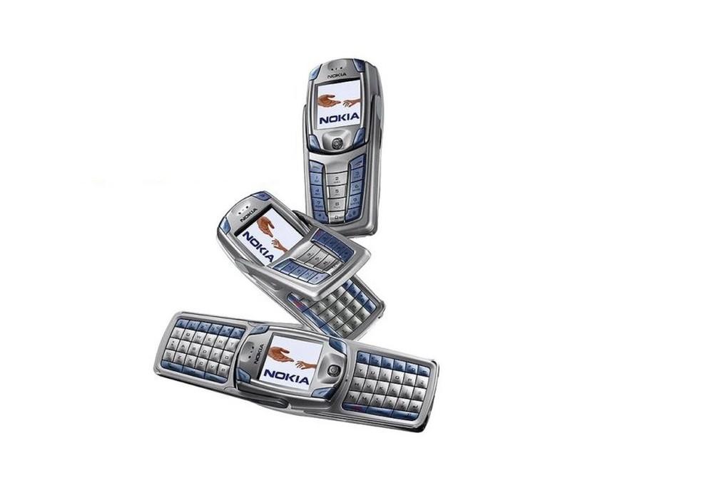 Nokia 6820 se desdobrava para aumentar o teclado � Foto: Divulgação