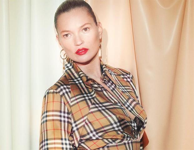 A Burberry foi uma das marcas que acabou com o uso de peles nas suas coleções  (Foto: Instagram / Burberry)