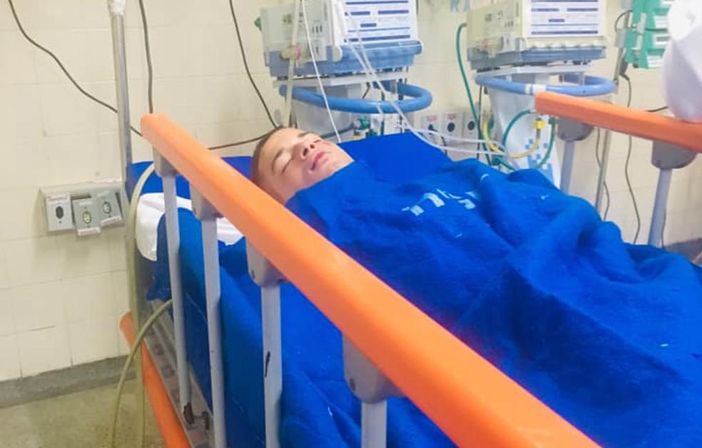 Cayan Santana teve traumatismo craniano após agressão em Salvador  — Foto: Arquivo Pesoal