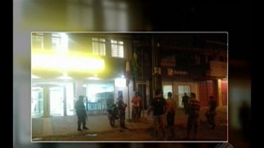 Criminosos invadem agência bancária em Goianésia do Pará