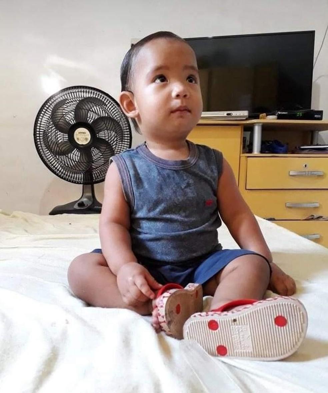 Gabriel tinha 2 anos de idade — Foto: Cedida