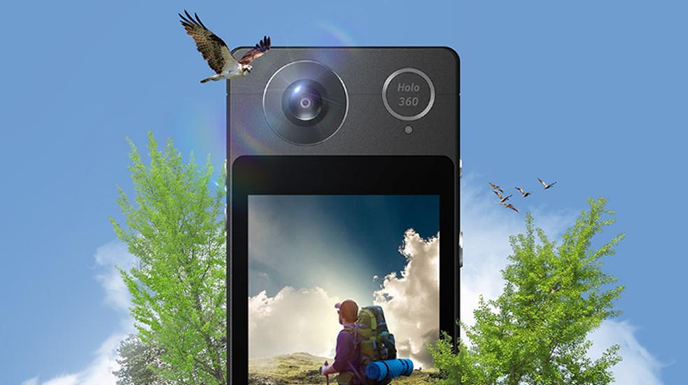 Acer Holo360 roda Android e grava em 360 graus (Foto: Divulgação/Acer)